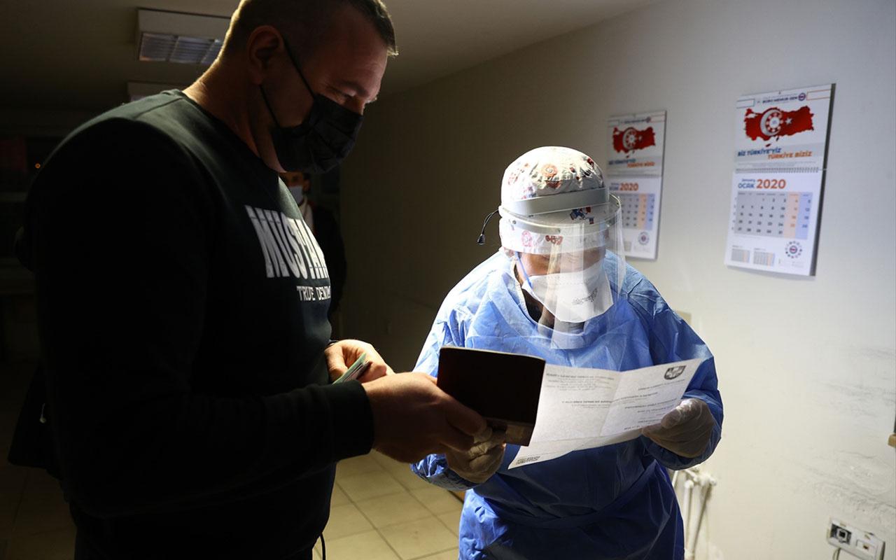 Yurt dışından gelenlere 'PCR testi ibrazı zorunluluğu' uygulaması başladı