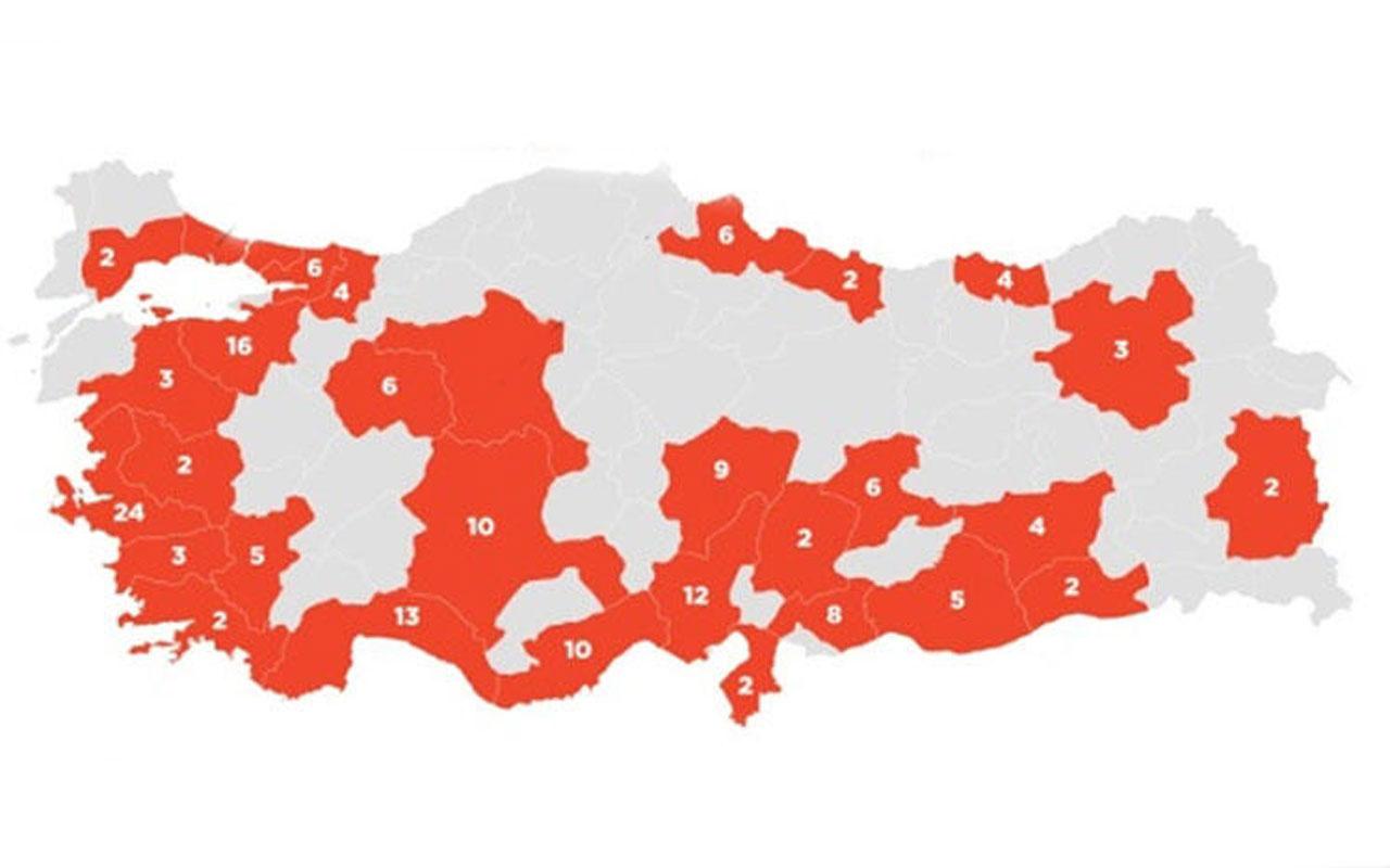 Adalet Bakanlığı açıkladı: 30 büyükşehirde 405 mahkemede uygulanıyor