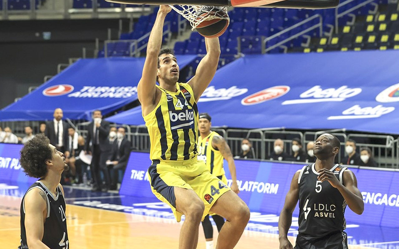 Fenerbahçe Beko, Asvel'i paramparça etti