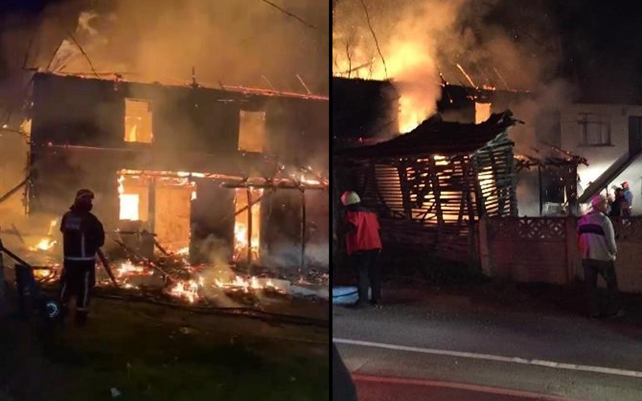 Sakarya'daki yangınla ilgili şok eden detaylar: Annesini boğazından...
