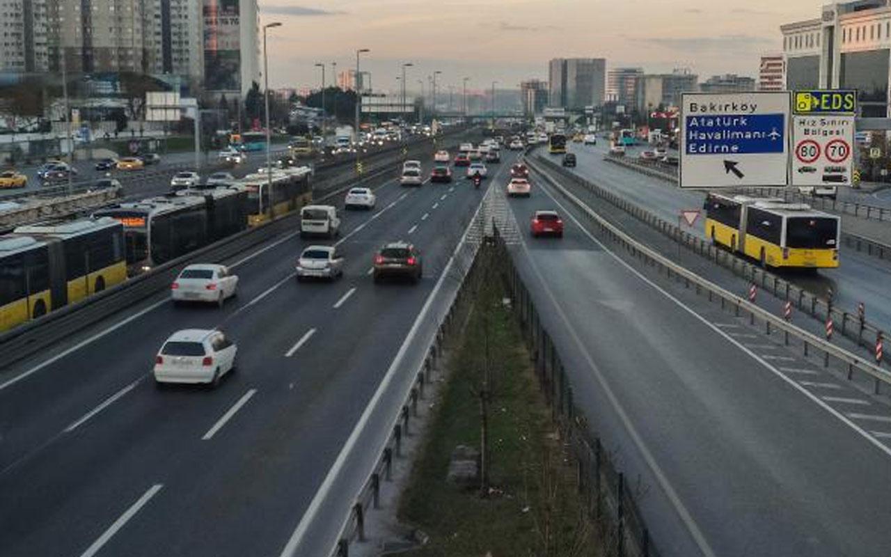 İstanbul'da 4 günlük kısıtlama öncesi trafik! Yoğunluk yüzde 30 azaldı
