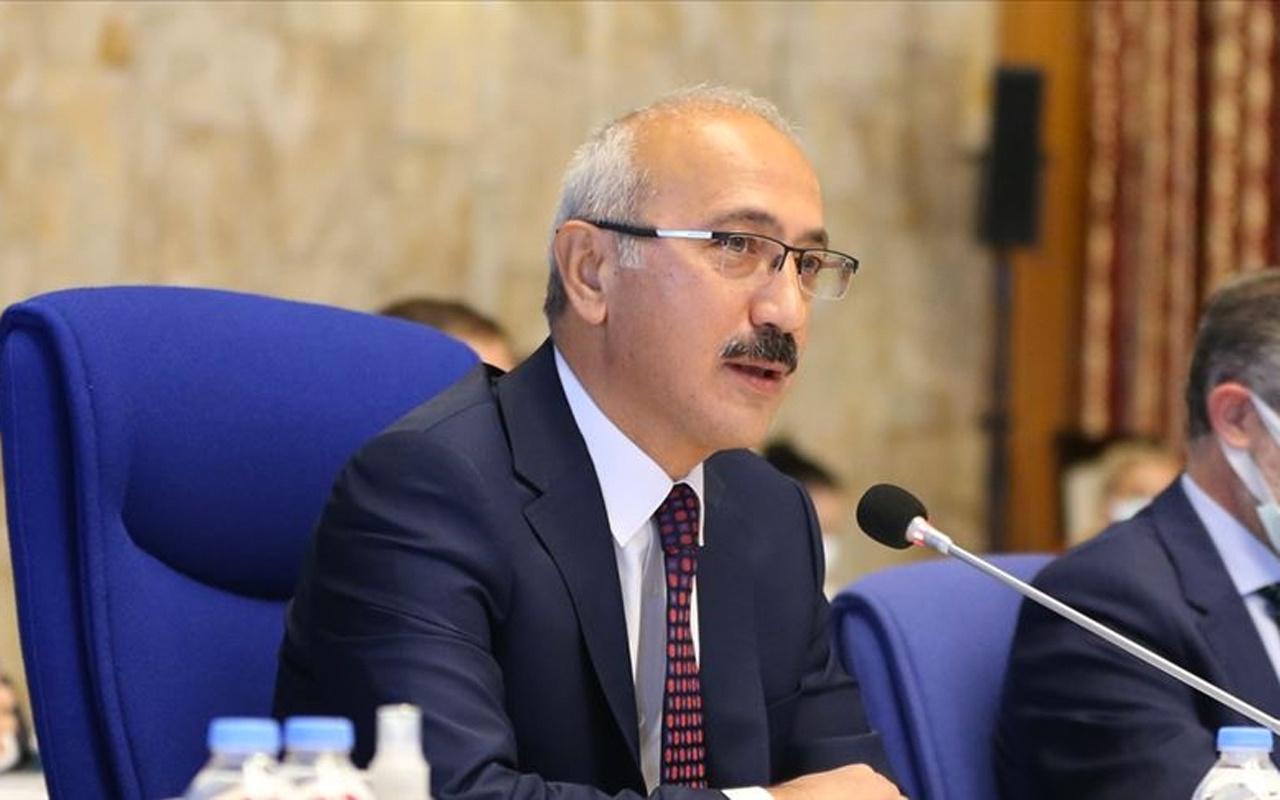 Hazine ve Maliye Bakanı Lütfi Elvan'dan yeni yıl mesajında 'reform' vurgusu