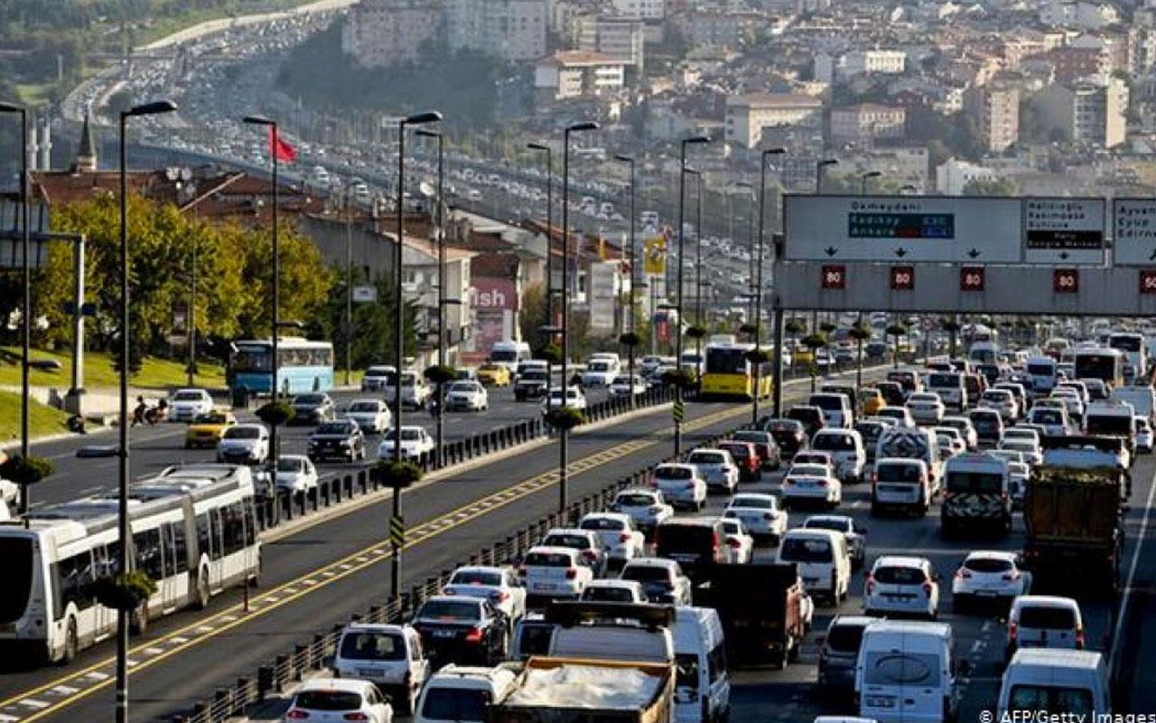 Son 11 ayda trafiğe kaydı yapılan araç sayısı belli oldu
