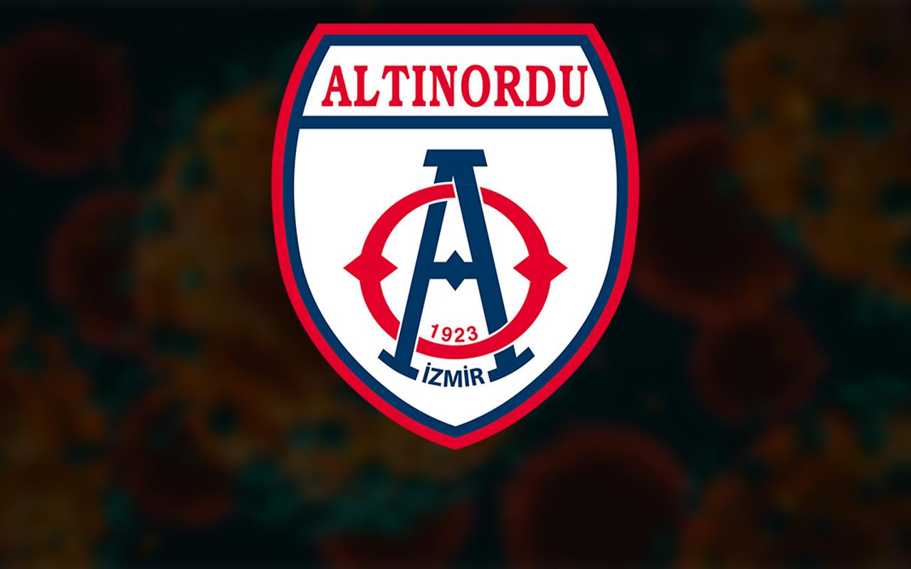 Altınordu'da koronavirüs testi pozitif çıkan futbolcu sayısı 11'e yükseldi