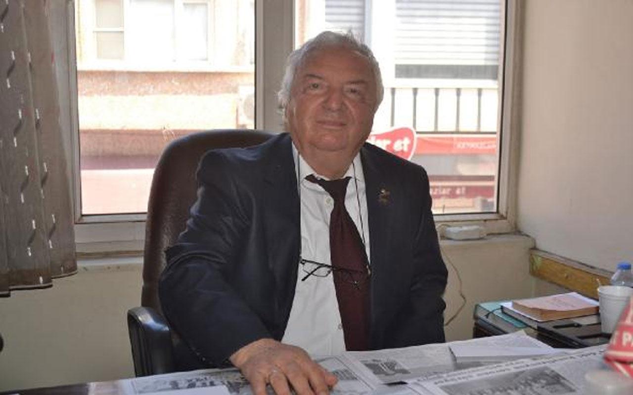 Demokrat Parti Keşan İlçe Başkanı Cemil Gülver koronavirüsten hayatını kaybetti