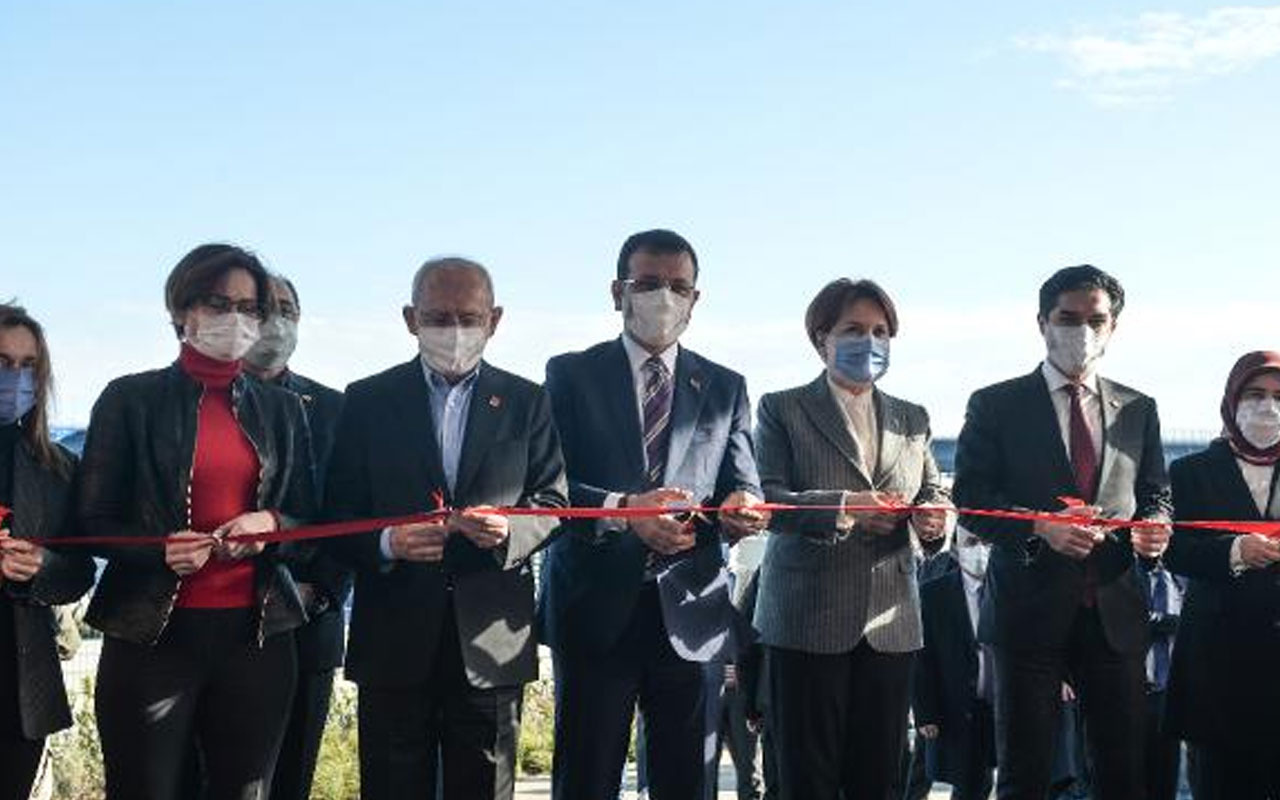 Eminönü-Alibeyköy Tramvay Hattı'nın ilk kısmı açıldı! Törene Kemal Kılıçdaroğlu ve Meral Akşener de katıldı