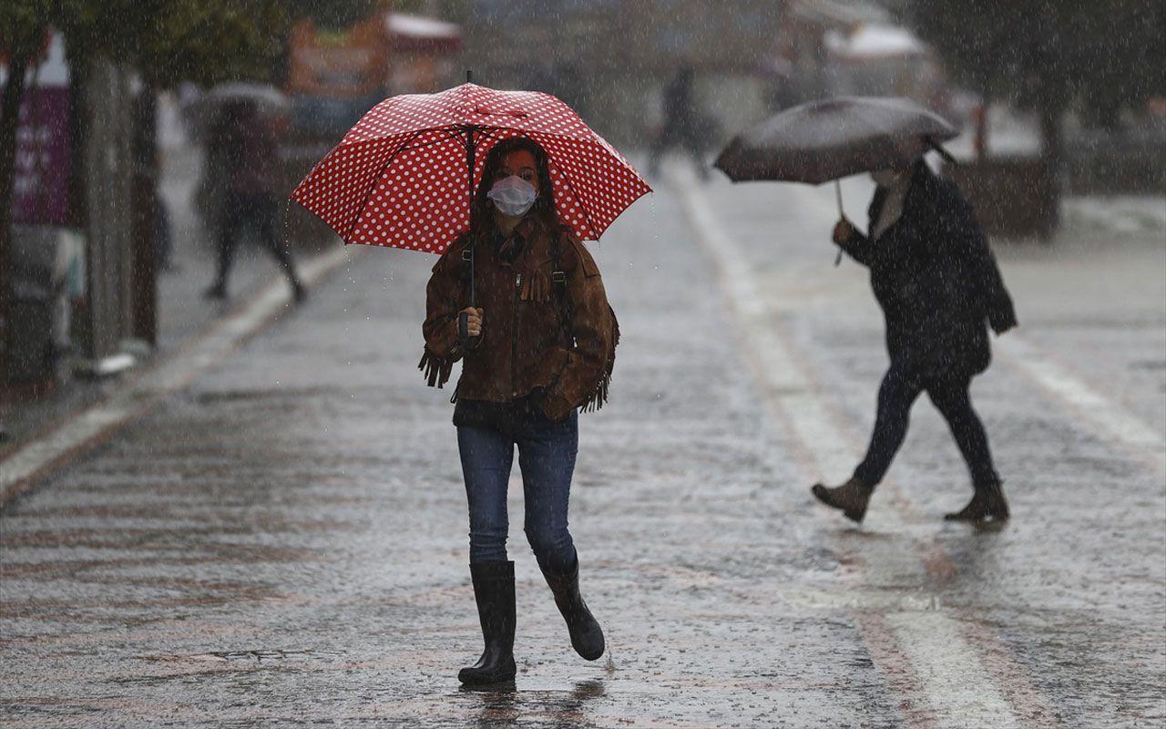 Meteoroloji 5 ilde alarm verdi! Yılın ilk günü için sağanak uyarısı