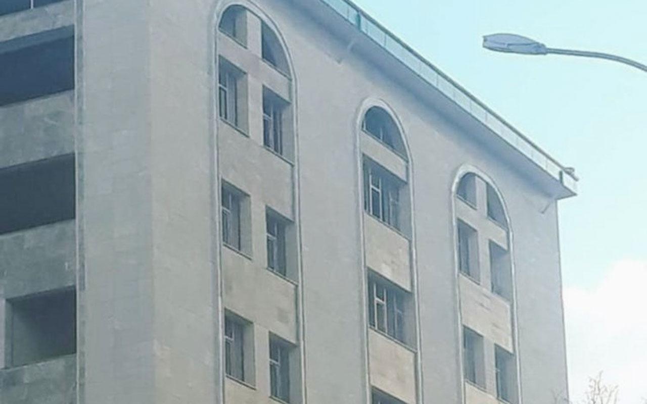 Kütahya İl Müftülük binasında haç işareti iddiası olay oldu açıklama geldi