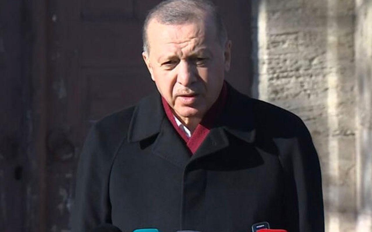 Cumhurbaşkanı Erdoğan'dan Sözcü'ye Ayasofya tepkisi! Lüzumsuz yere para verip almayın