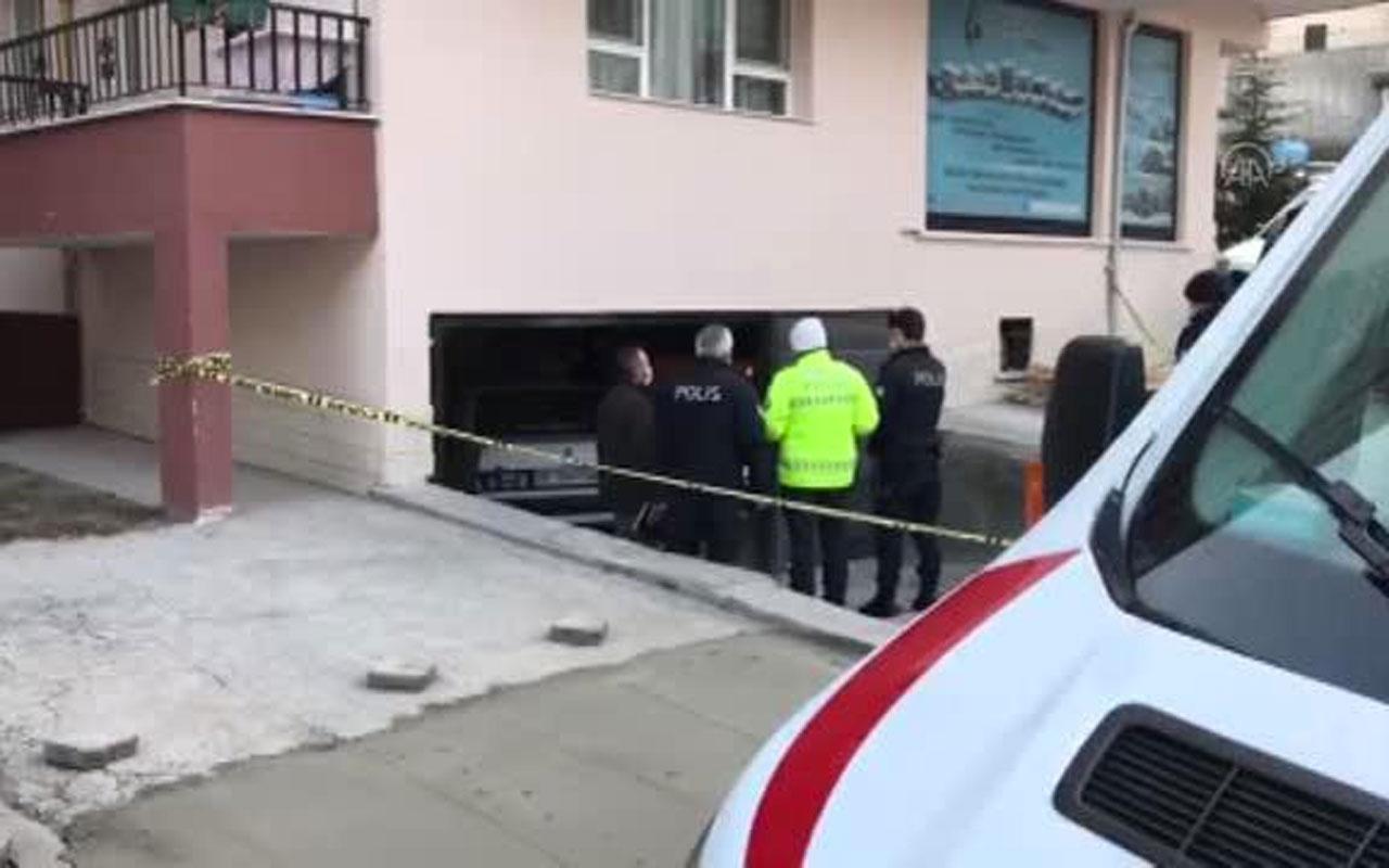 Ankara'da sır ölümler! Bir binanın garajında 3 gencin cesedi bulundu