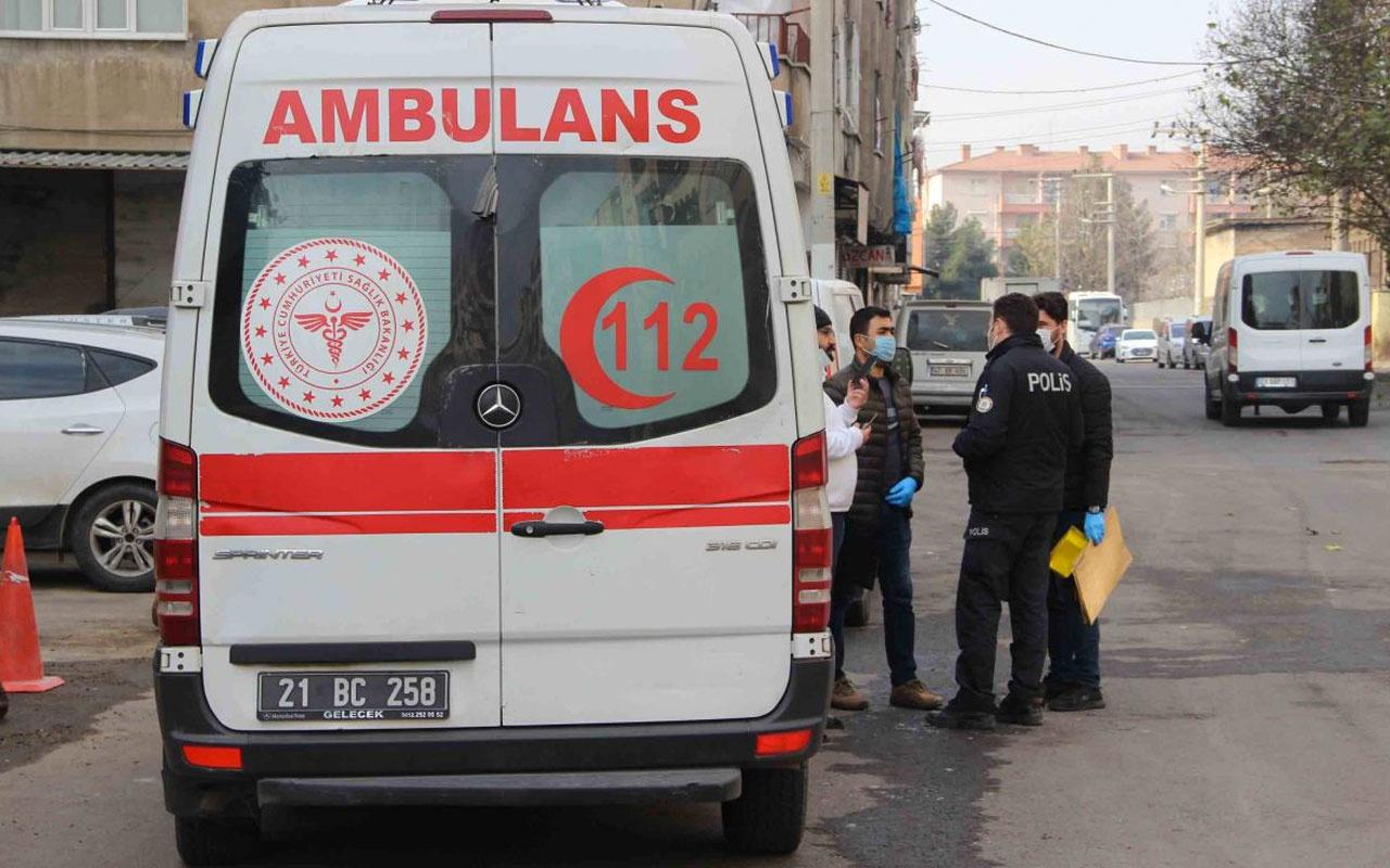 Diyarbakır'da kuma getiren kocasını bıçakladı
