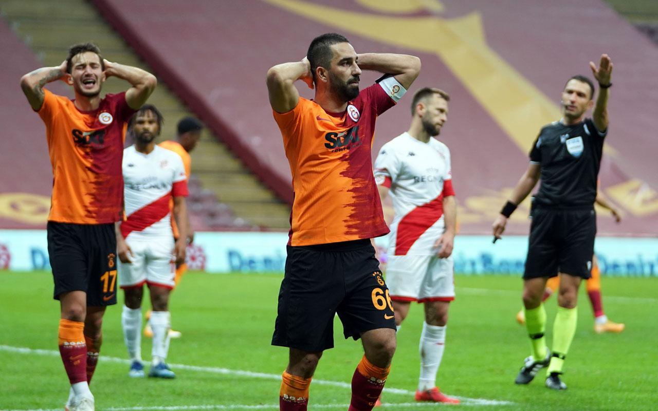 Galatasaray-Antalyaspor Süper Lig maçı özet ve golleri