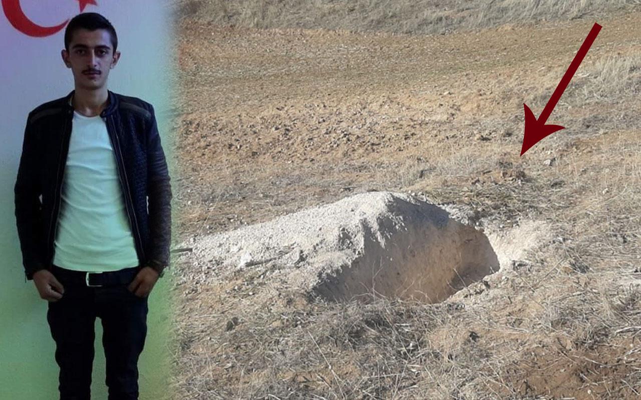 Kırşehir'i sarsan cinayet! Genç çifti öldürdükten sonra toprağa gömdüler