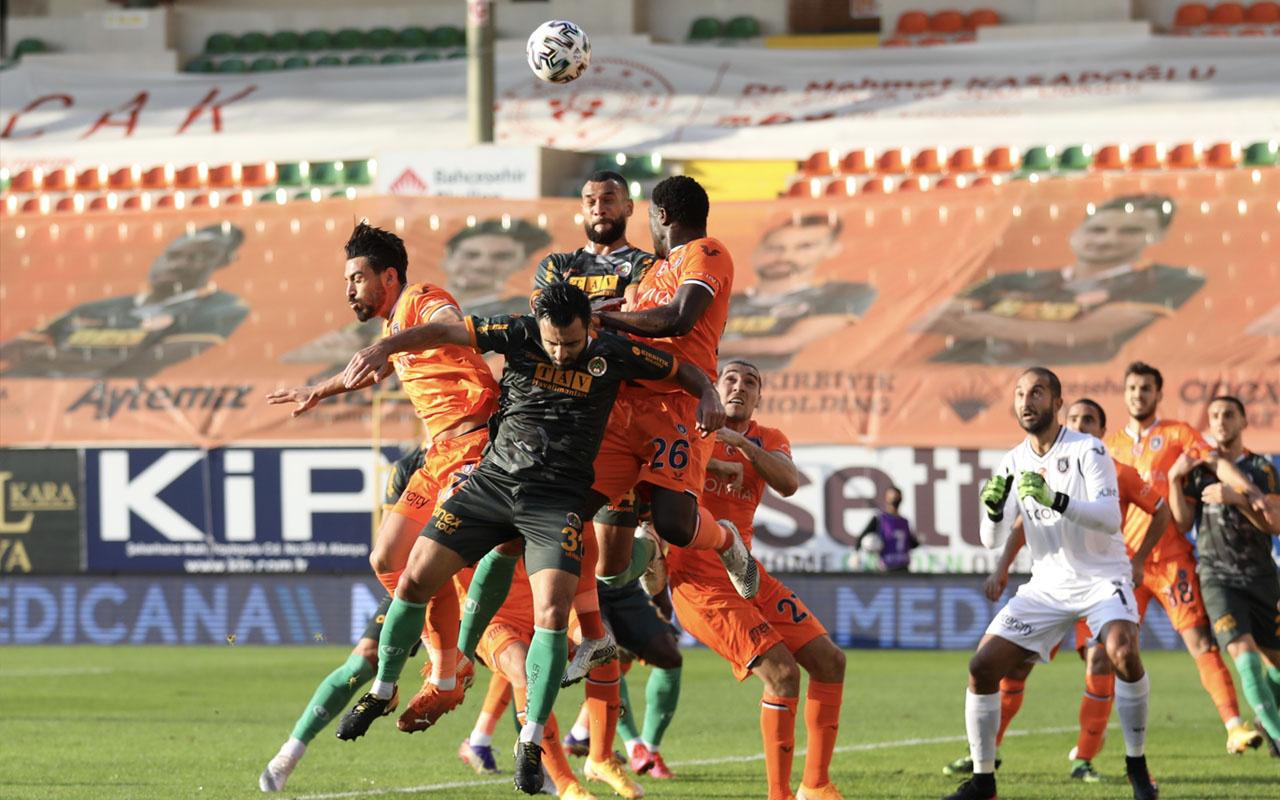 Alanyaspor-Başakşehir Süper Lig maç sonucu: 3-0