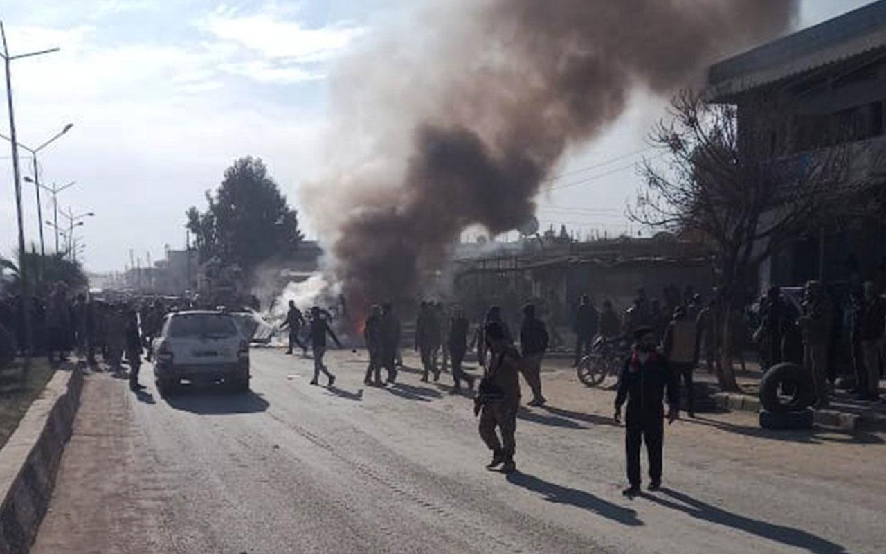 Terör örgütü PKK Resulayn'da sivilleri hedef aldı! Bombalı saldırıda 2 çocuk öldü