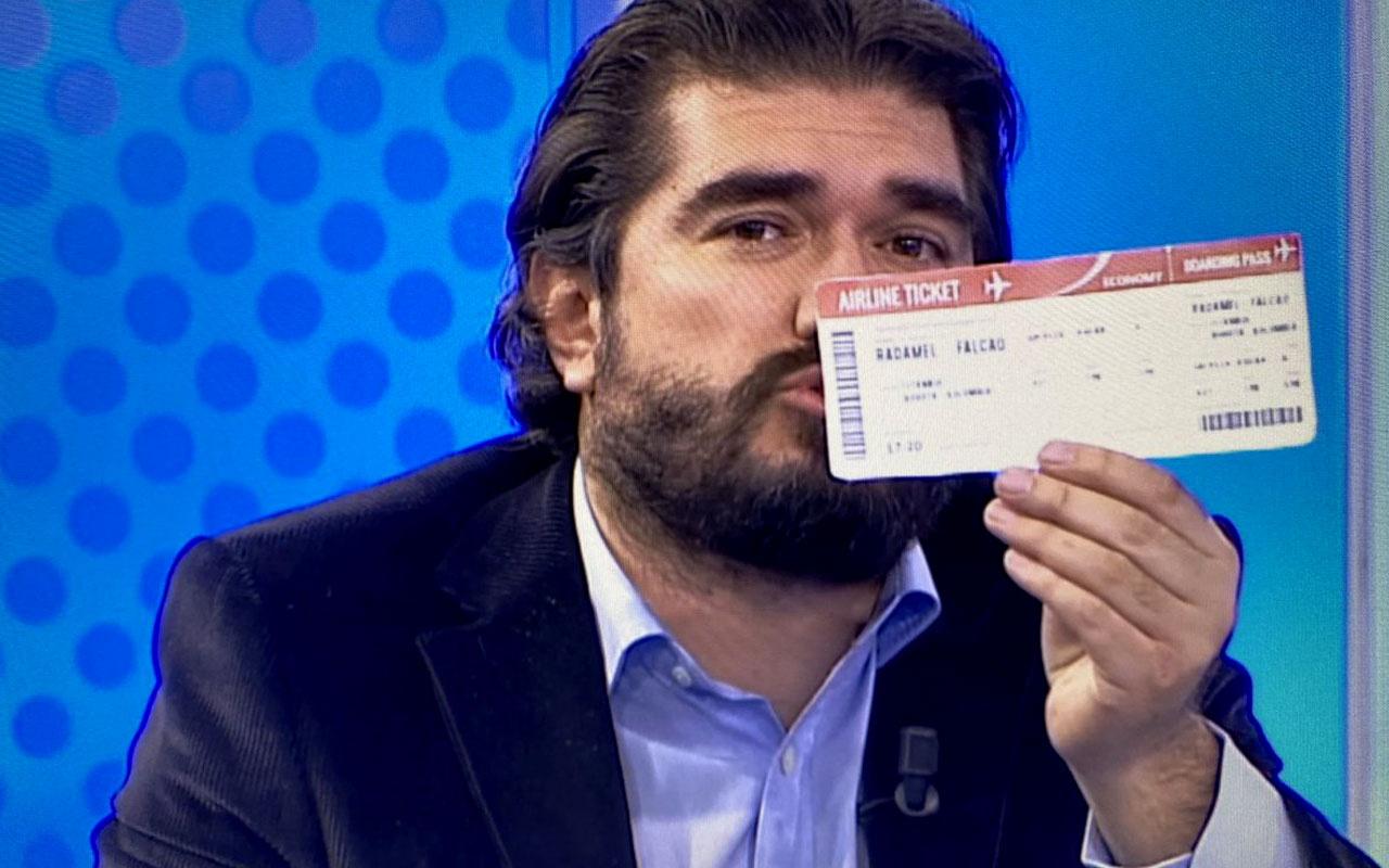 Rasim Ozan Kütahyalı'dan Falcao'ya bilet: Onurunla şerefinle terk et Türkiye'yi