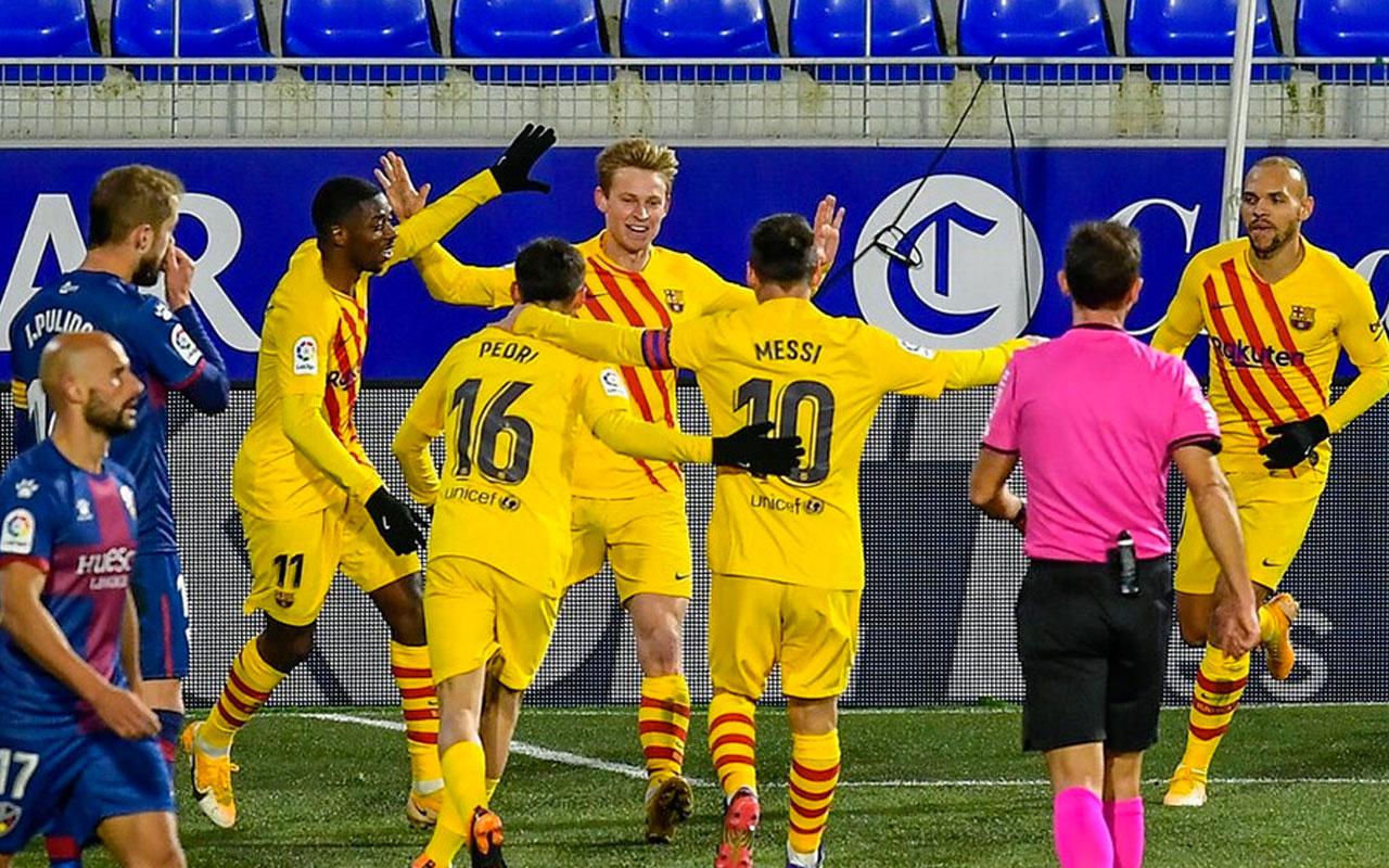 Barcelona, Huesca deplasmanında 3 puanı tek golle aldı