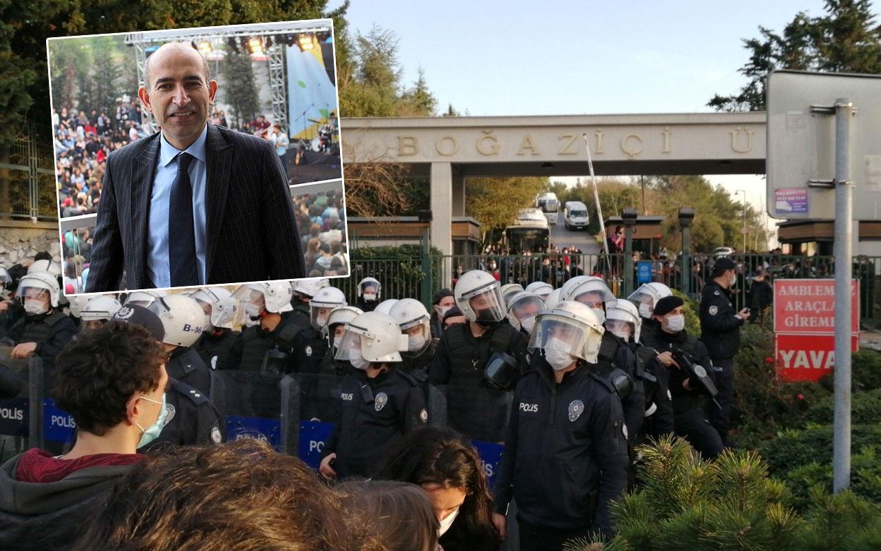 Boğaziçi Üniversitesi'ne rektör atanan Melih Bulu protestoyla karşılaştı
