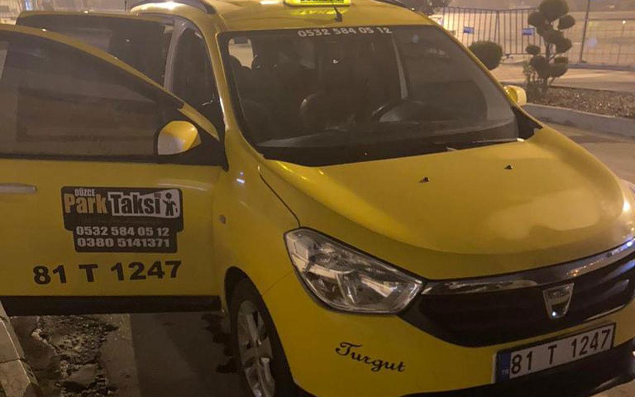 Düzce'de kısıtlamada evlere içki servisi yapan taksiciye 6 bin 150 lira ceza