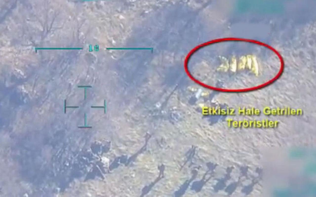 Mehmetçik, Gabar'da 5 teröristi işte böyle etkisiz hale getirdi! İkisi gri kategoride