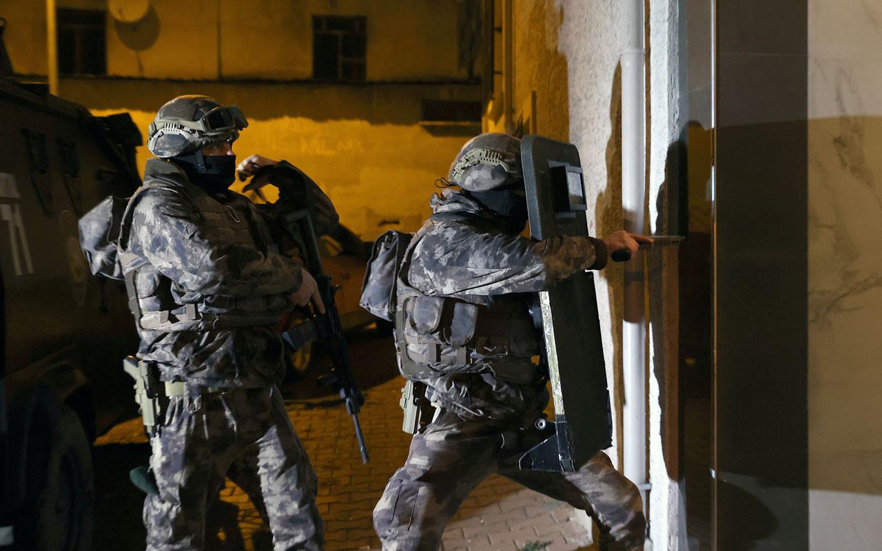 İstanbul'da uyuşturucu satıcılarına yönelik operasyon! 36 şüpheli yakalandı