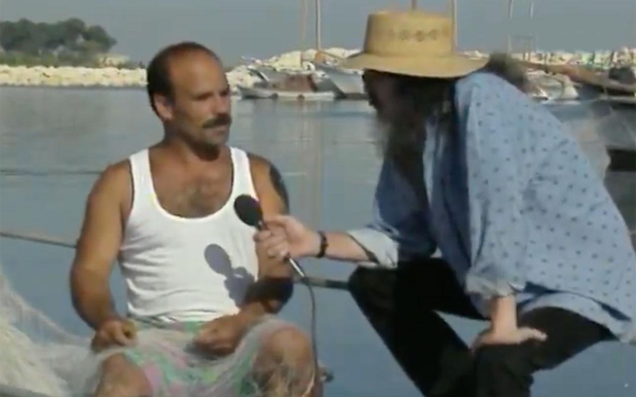 Bakırköylü Balıkçı Serhan, Cem Karaca'ya öyle bir palavra sıktı ki duyanların ağzı açık kaldı