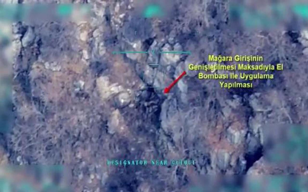 Şırnak'ta 5 terörist etkisiz hale getirildi! Operasyonun görüntüsü ortaya çıktı