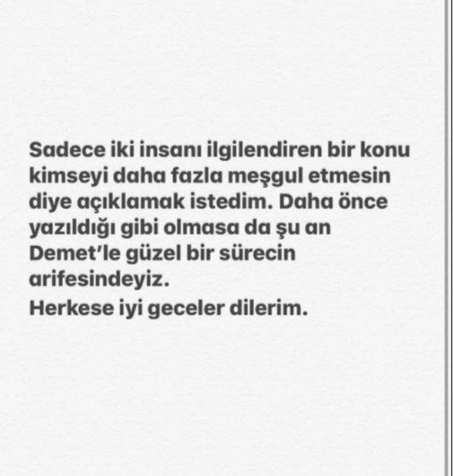 Oğuzhan Koç Demet Özdemir'le ilişkisini itiraf etti yakalanınca yalanlayamadı