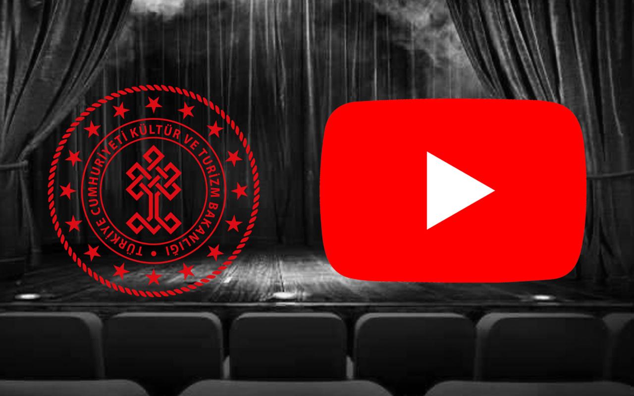 Kültür ve Turizm Bakanlığı müjdeyi verdi! Youtube'dan yayınlanacak