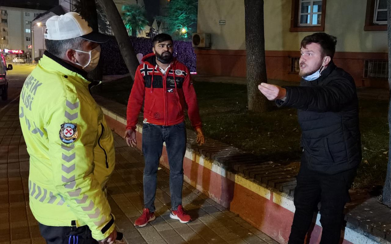 Bursa'da polis ceza yazdı akıllanmadı: Burada gözünüzün önünde...