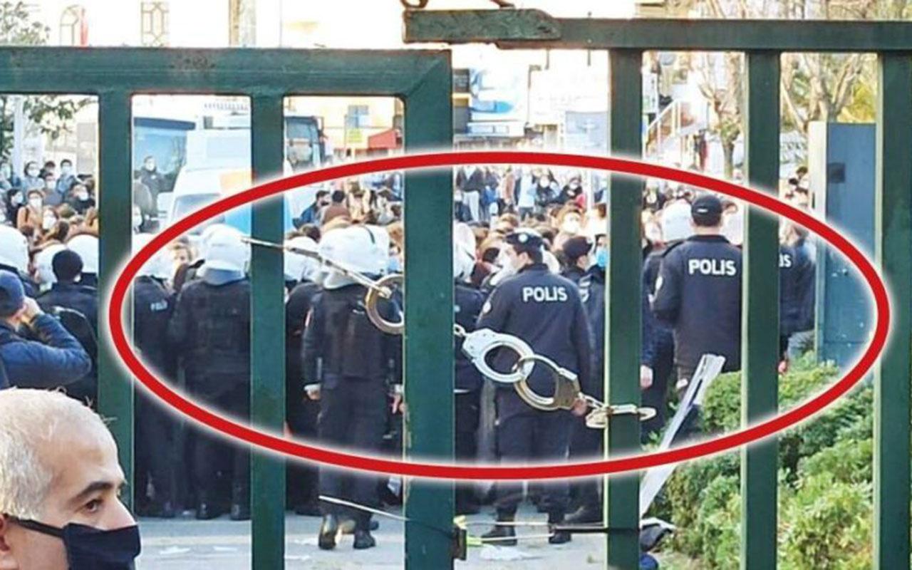 Boğaziçi Üniversitesi'ne takılan kelepçeyle ilgili soruşturma açıldı!