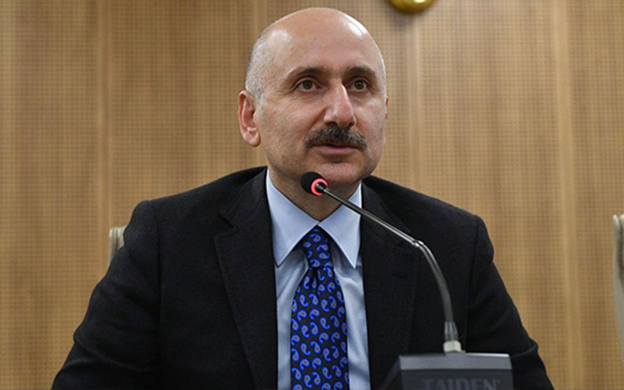 Ulaştırma ve Altyapı Bakanı Adil Karaismailoğlu 2020 yılını değerlendirdi