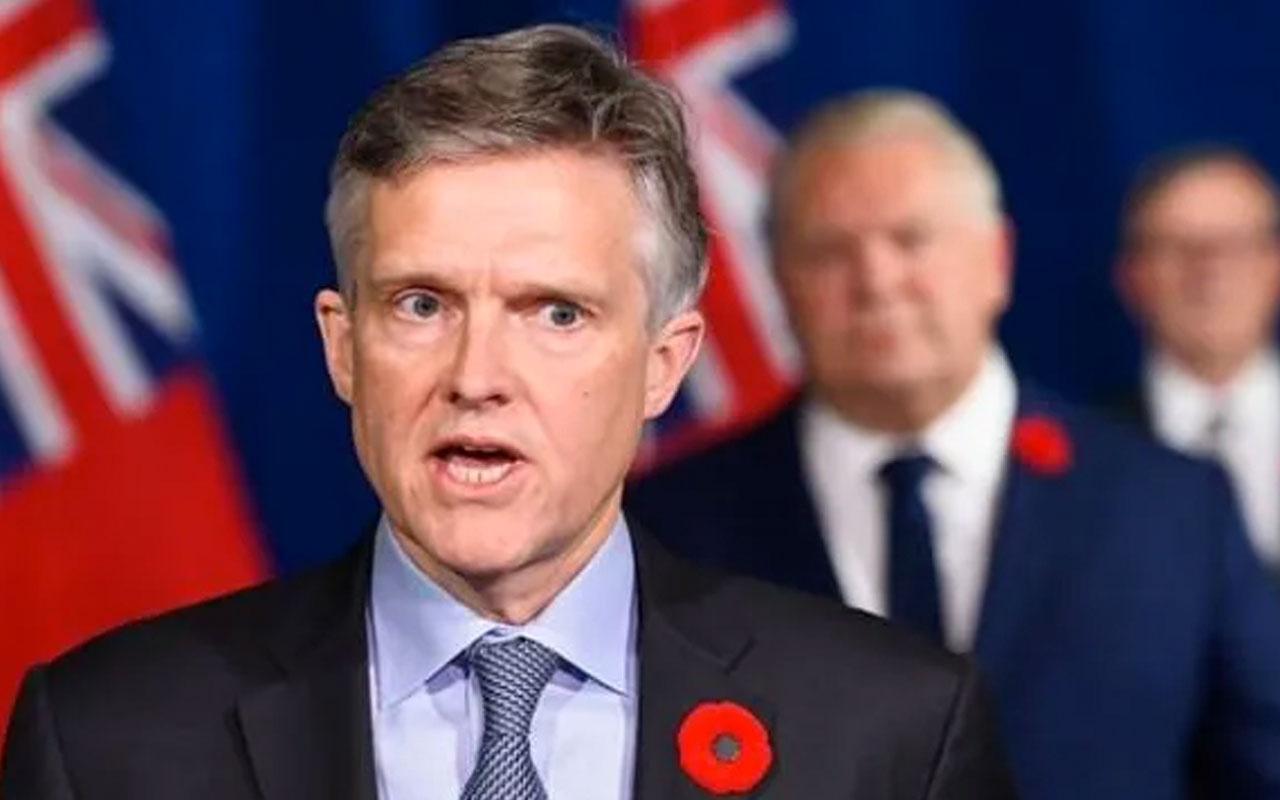 Kanada'da ovid-19 yasaklarında tatilde olduğu ortaya çıkan bakan istifa etti!
