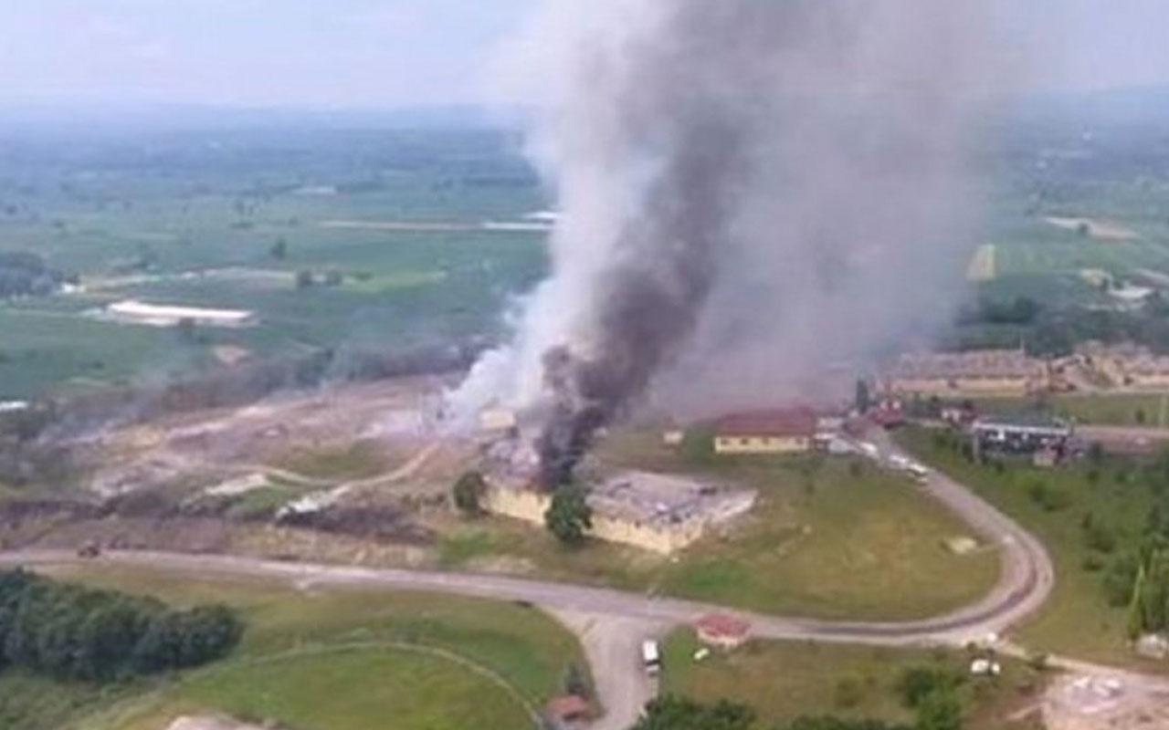 Sakarya'daki havai fişek fabrikasındaki patlamaya ilişkin dava ertelendi