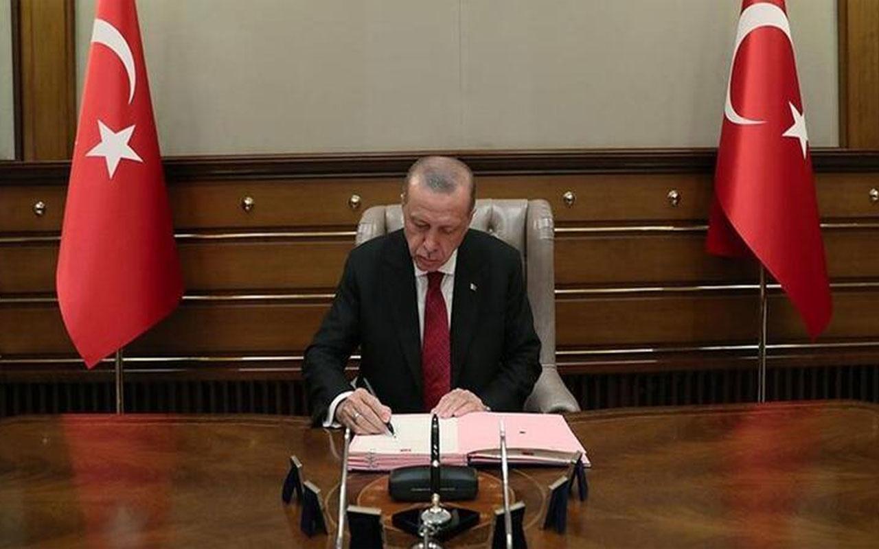 Cumhurbaşkanı Erdoğan imzaladı! Kararlar Resmi Gazete'te yayımlandı