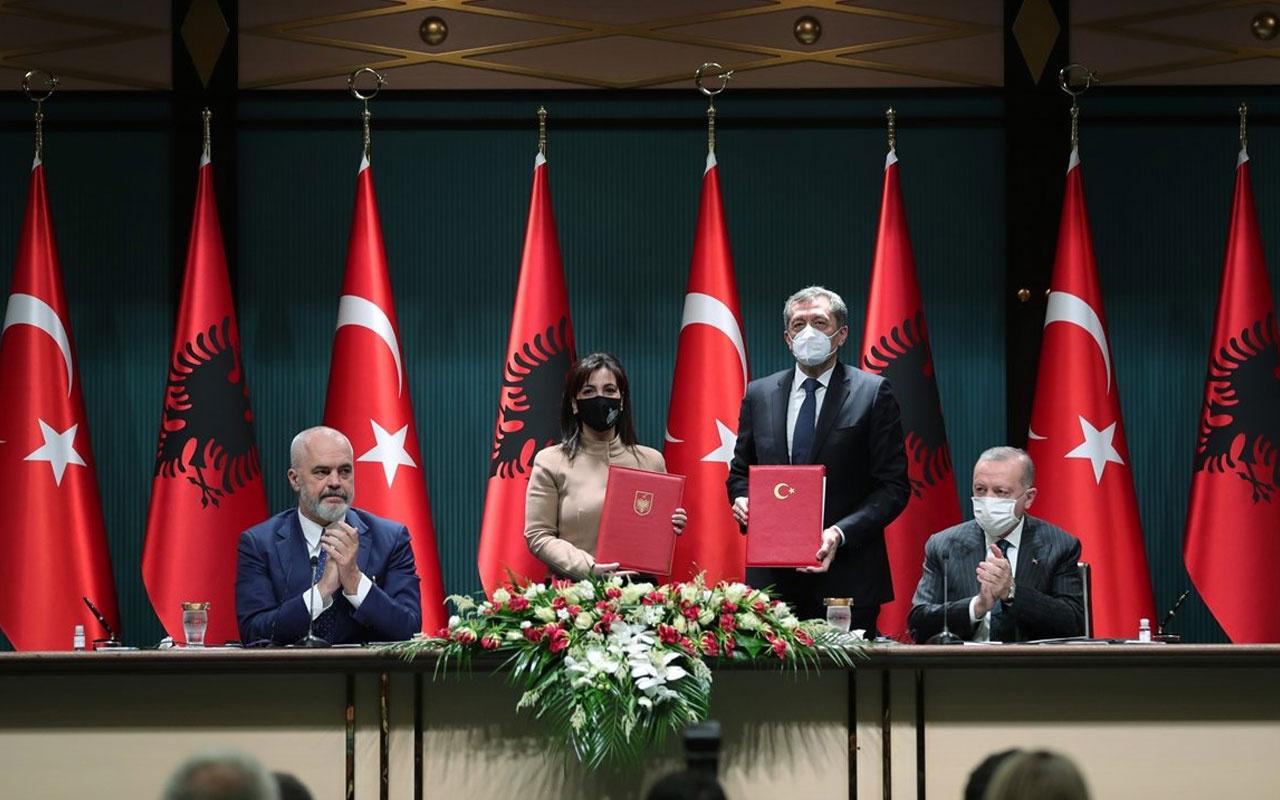Türkiye-Arnavutluk ilişkilerinde kritik anlaşma! Cumhurbaşkanı Erdoğan duyurdu