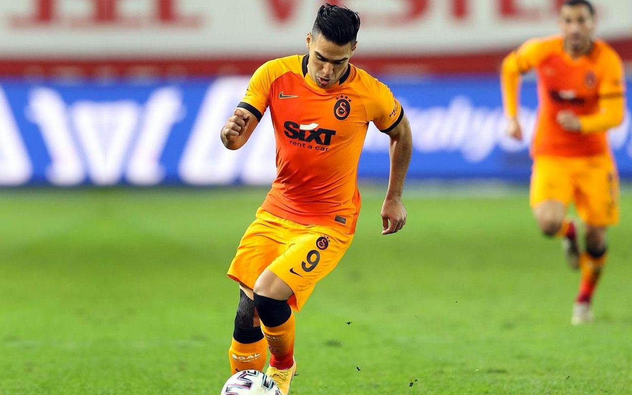 Falcao, Galatasaray'dan ayrılmak için şart koştu