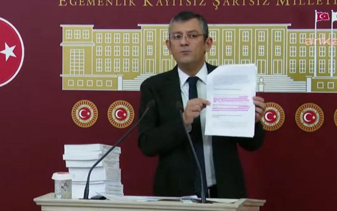 CHP'li Özgür Özel'den Bahçeli'ye sert 'Boğaziçi' yanıtı: Size ezdirmeyiz