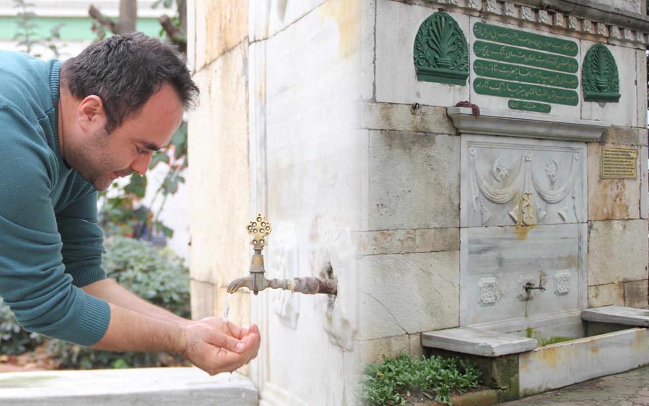 Sinop'ta bu çeşmenin acı hikayesi herkesi duygulandırıyor