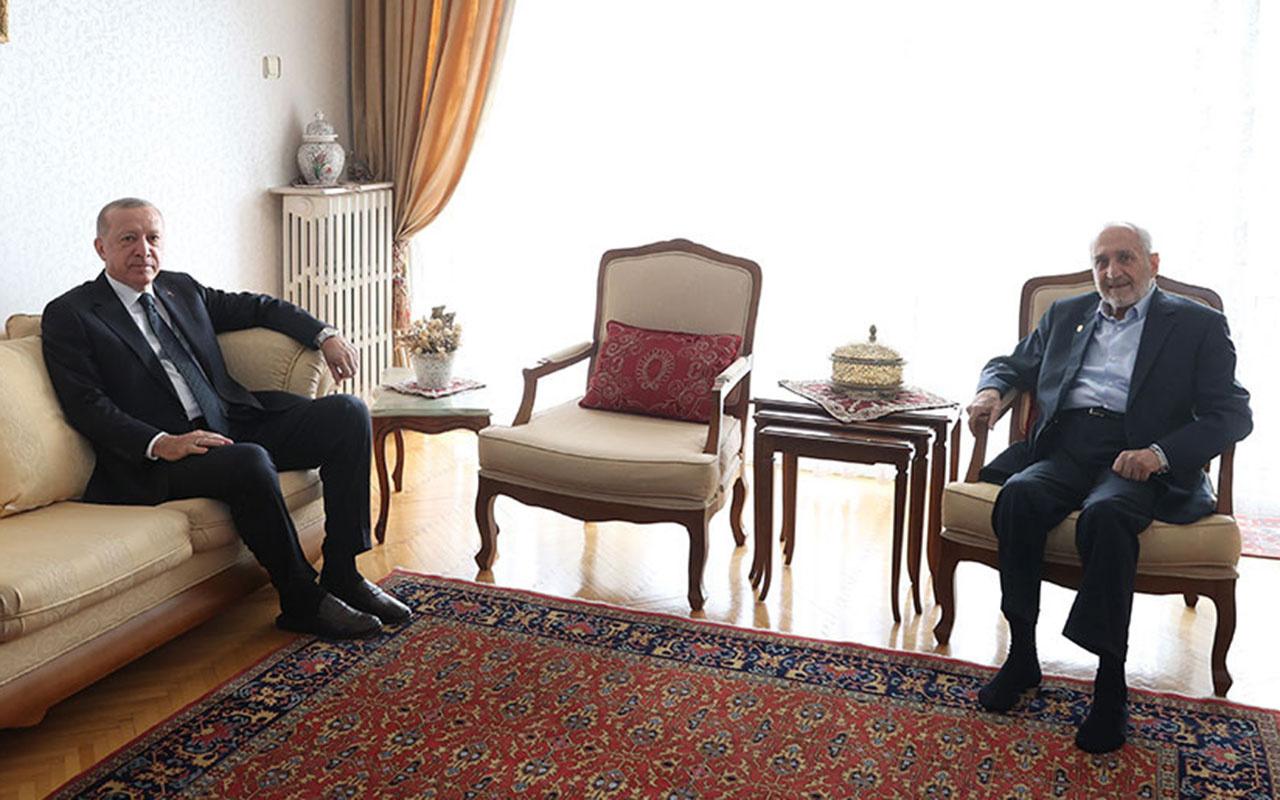Cumhurbaşkanı Erdoğan'dan bir ev ziyareti daha! Saadet Partili Oğuzhan Asiltürk'ü ziyaret ediyor