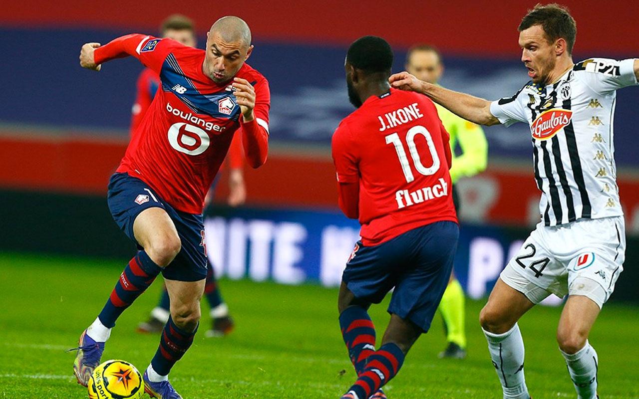 Burak Yılmaz'ın golü Lille'e yetmedi