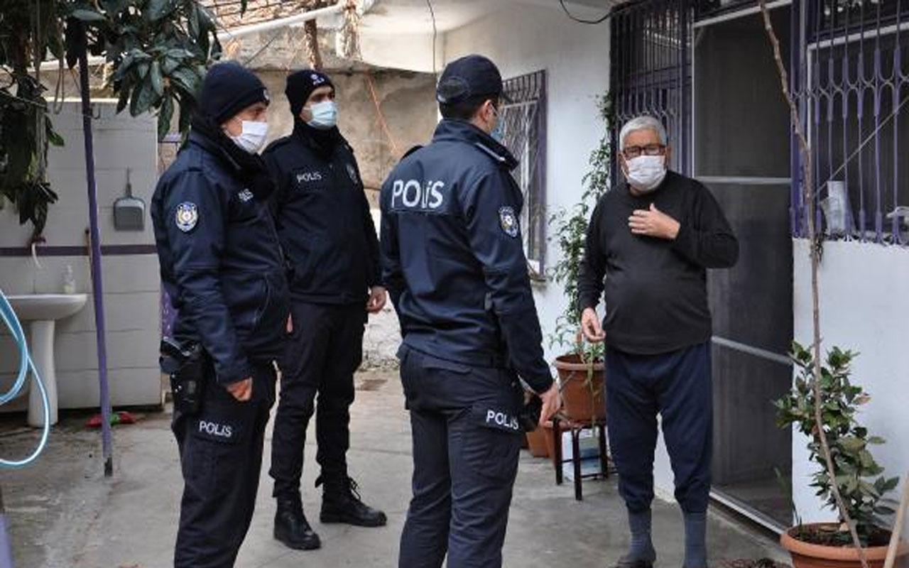 Olay yeri Gaziantep! 'Korona testi yapacağız' yalanıyla girdikleri evde yaşlı çifti darp ettiler