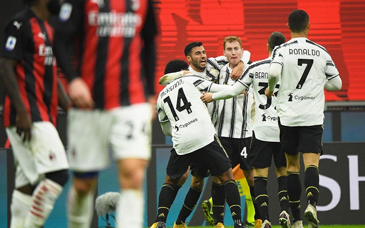 Milan'ın galibiyet serisini Juventus bitirdi