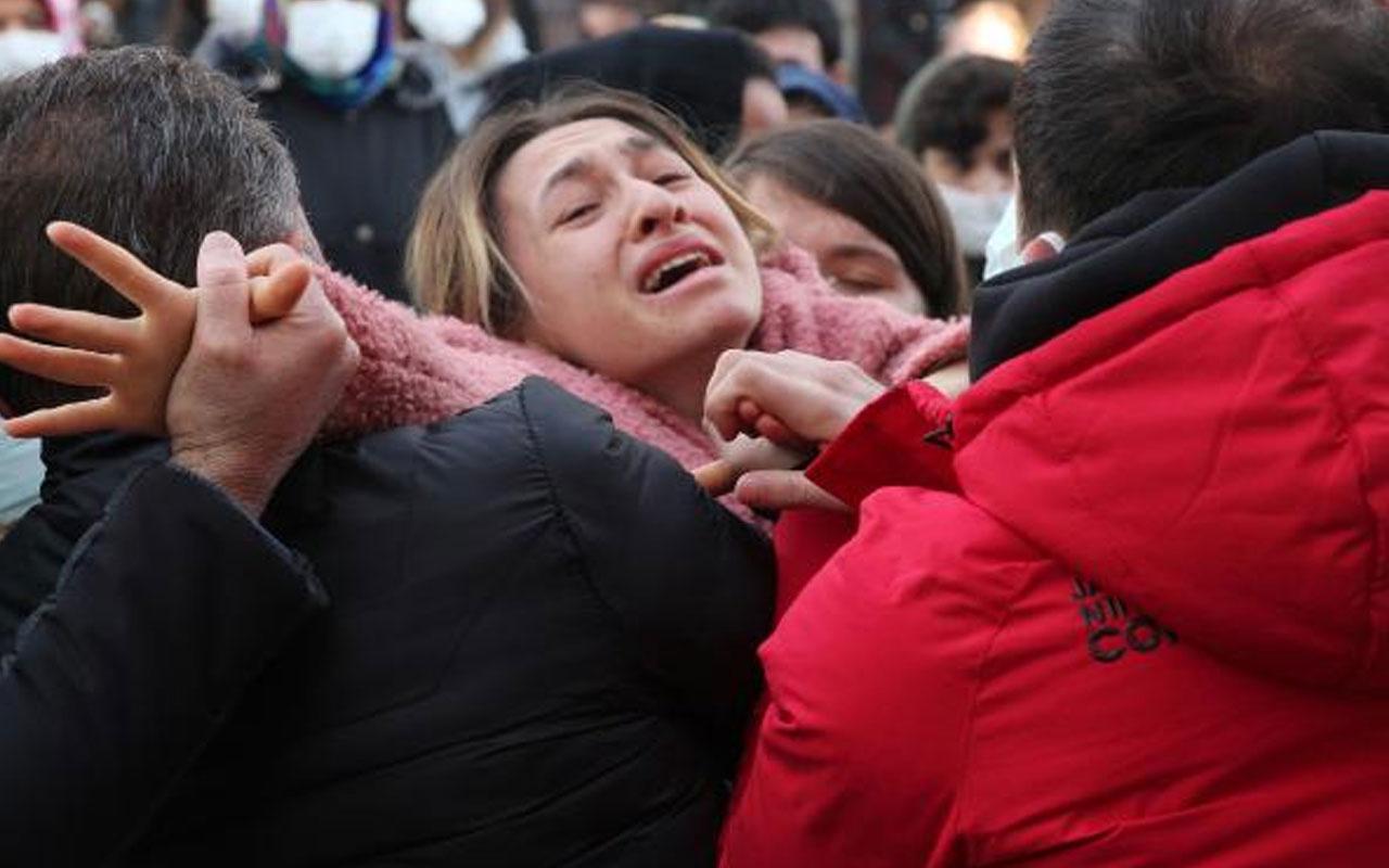 Başına isabet eden yorgun mermiyle öldü! Büşra Konyar gözyaşlarıyla son yolculuğuna uğurlandı
