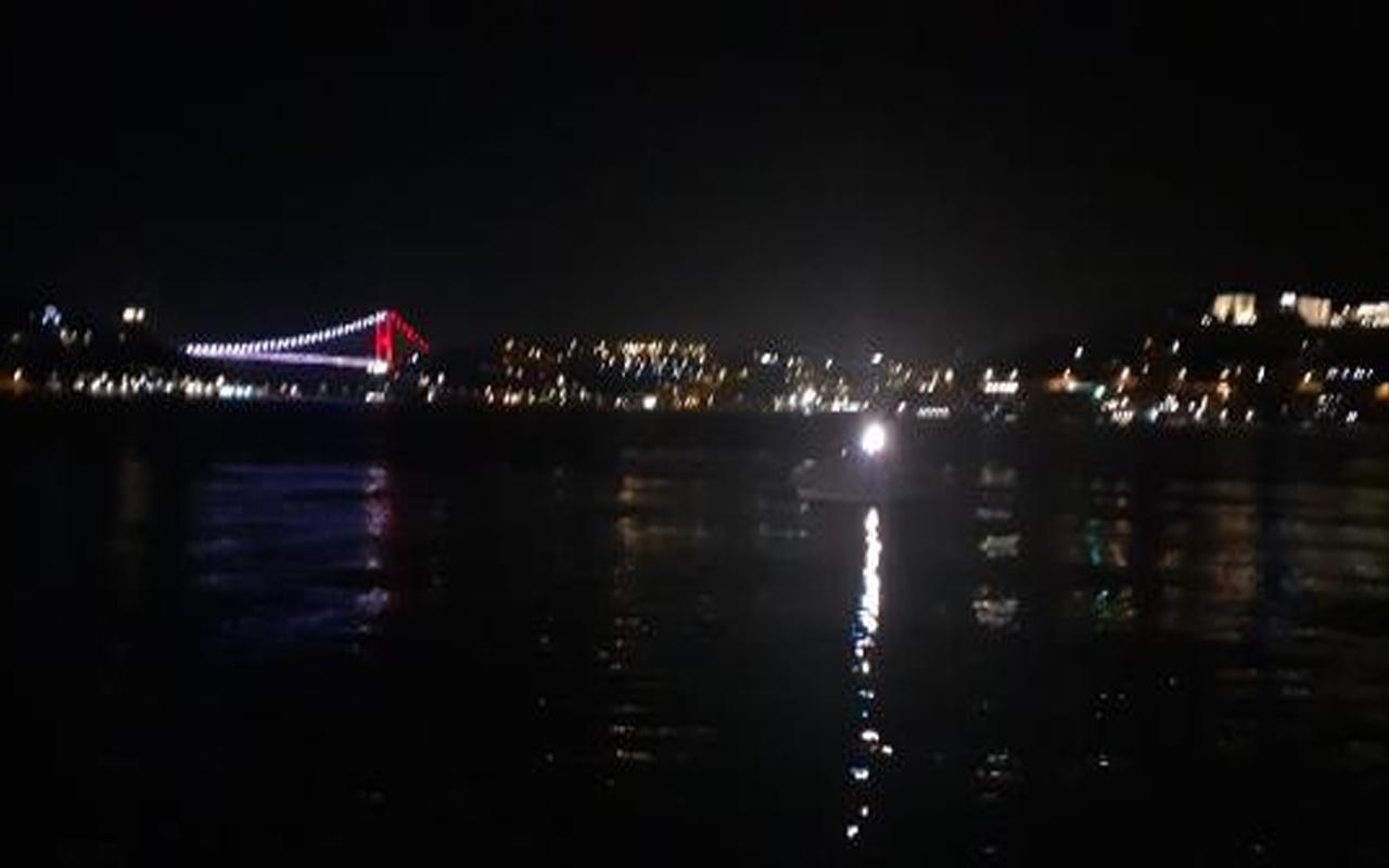 Beşiktaş'ta denize atlayan kişi kayboldu! Geride kıyafetleri kaldı