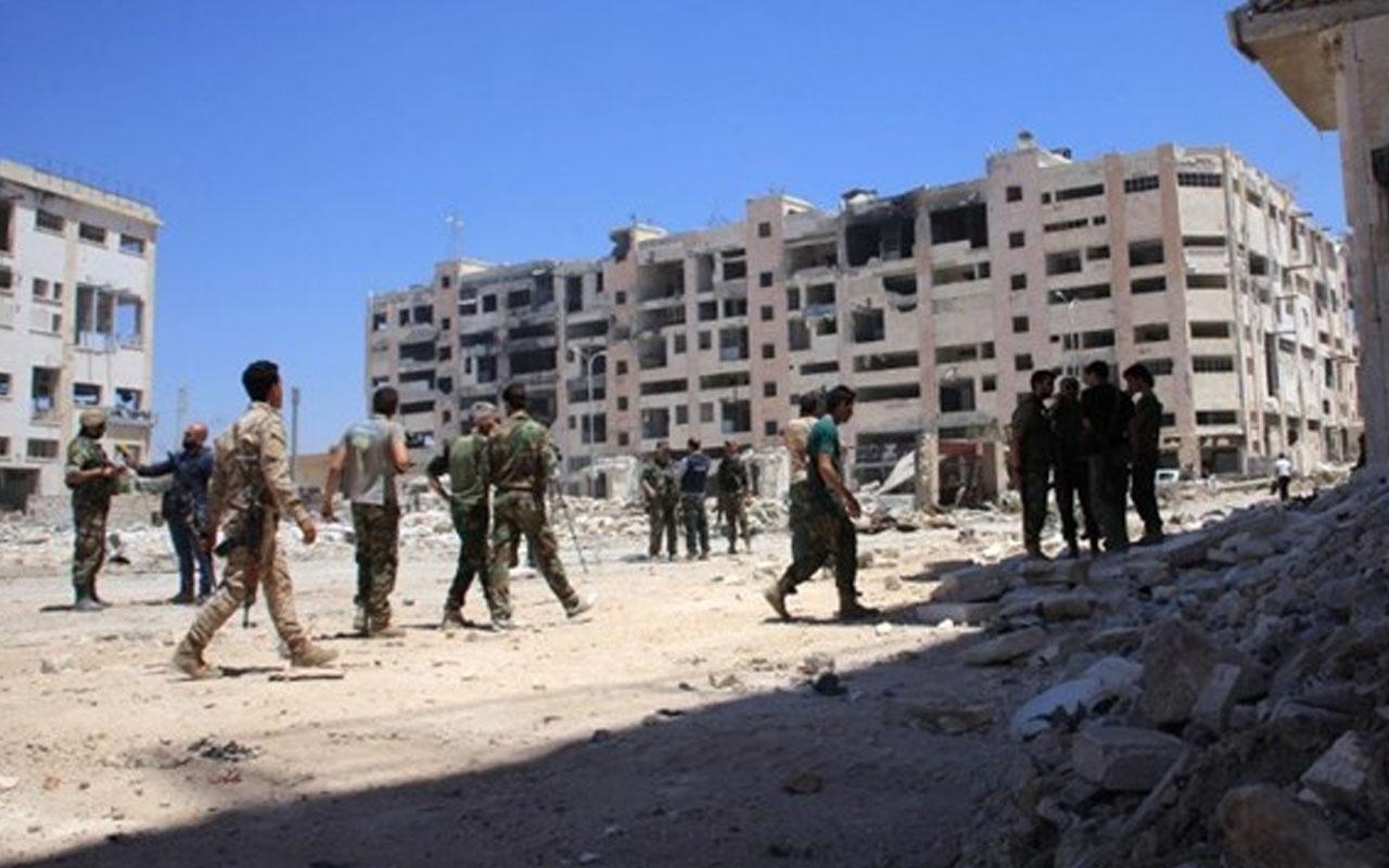 Terör örgütü YPG/PKK ile rejim güçleri arasında Kamışlı'da artan gerilimi Rusya çözdü