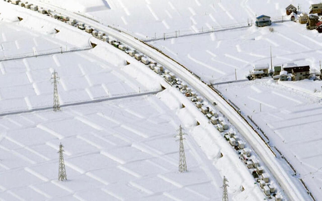 Japonya'da yoğun kar yağışı! Ölü sayısı 29'a çıktı