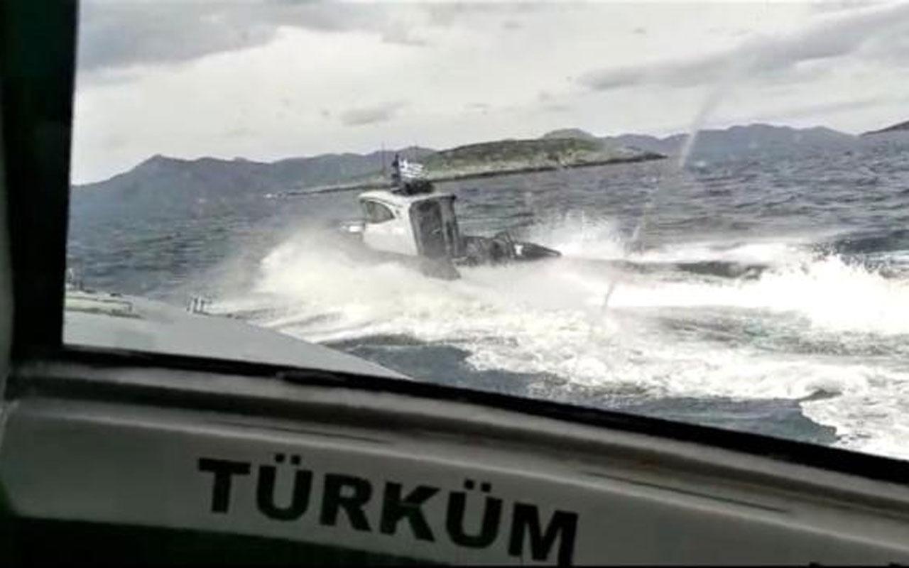 Kardak'ta gerginlik! 2 Yunan botu Türk karasularından çıkartıldı