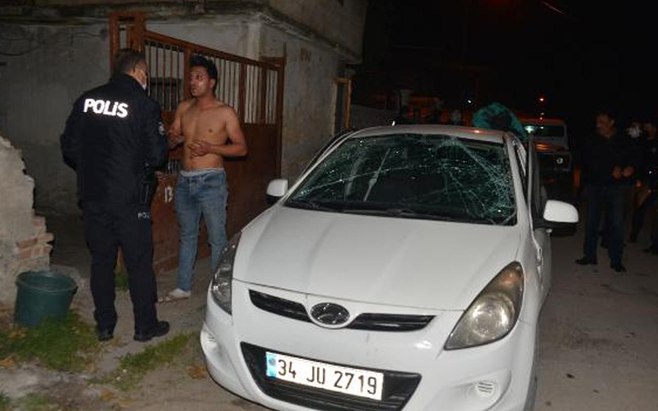 Adana'da otomobildeki çakmaz gazı patladı: 2 yaralı