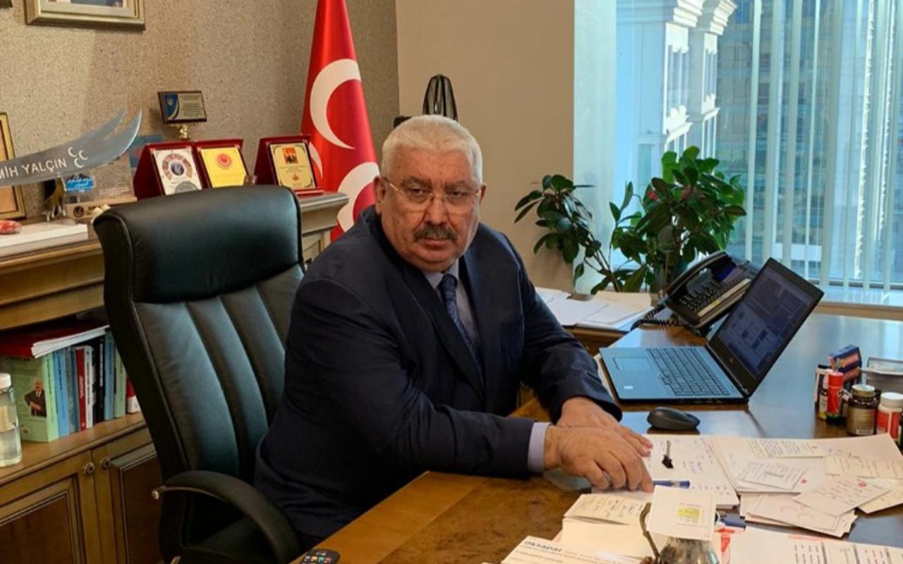 MHP'li Semih Yalçın'dan Özgür Özel'e ağır sözler: CHP'nin yumuşakcası boşuna yırtınıyor